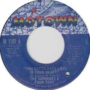 The Supremes & Four Tops - You Gotta Have Love In Your Heart / I'm Glad About It Mp3