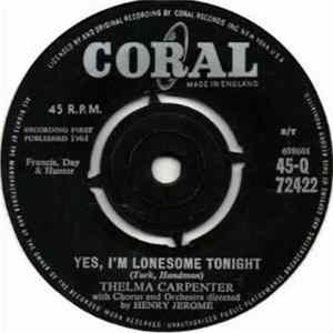 Thelma Carpenter - Yes, I'm Lonesome Tonight Mp3