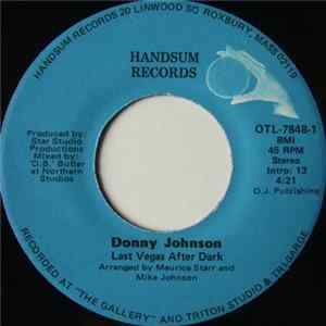 Donny Johnson - Last Vegas After Dark / Burning Fire Mp3