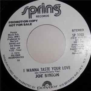 Joe Simon - I Wanna Taste Your Love Mp3