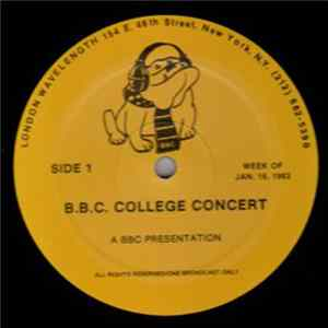 Marshall Crenshaw - B.B.C.College Concert Mp3