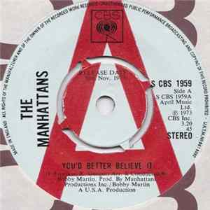 The Manhattans - You'd Better Believe It Mp3