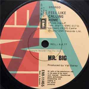 Mr Big - Feel Like Calling Home Mp3