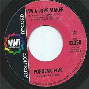 Popular Five - I'm A Love Maker / Little Bitty Pretty One Mp3
