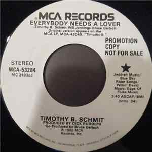 Timothy B. Schmit - Everybody Needs A Lover Mp3