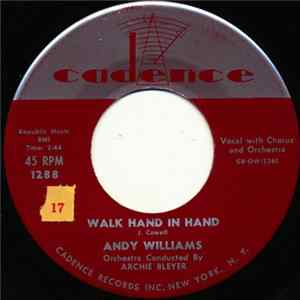 Andy Williams - Walk Hand In Hand / Not Anymore Mp3