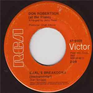 Don Robertson - Earl's Breakdown Mp3