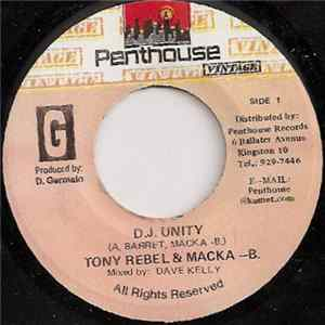 Tony Rebel & Macka B - D.J. Unity Mp3