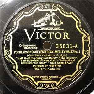 The Troubadours - Popular Songs Of Yesterday Mp3