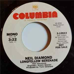 Neil Diamond - Longfellow Serenade Mp3