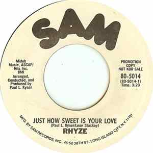 Rhyze - Just How Sweet Is Your Love / I Found Love In You Mp3