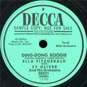 Ella Fitzgerald With Sy Oliver And His Orchestra / Ella Fitzgerald - Ding-Dong Boogie / Preview Mp3