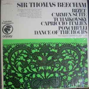 Bizet, Ciakovski, Ponchielli, Columbia Symphony Orchestra Directed By Sir Thomas Beecham - Sir Thomas Beecham - Bizet Carmen Suite - Tchaikovsky Capriccio Italiano - Ponchielli Dance of the Hours Mp3