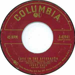 Jerry Vale - Love In The Afternoon / I'm Not Ashamed Mp3