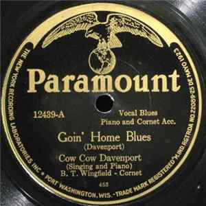 Cow Cow Davenport - Goin' Home Blues / Jim Crow Blues Mp3