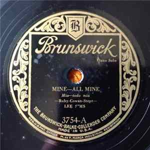 Lee Sims - Mine—All Mine / Let's Misbehave Mp3